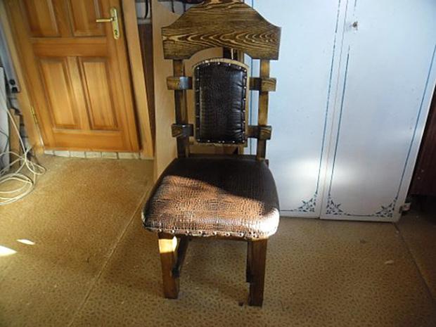 Готовый стул под старину